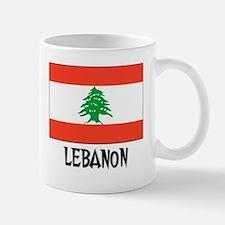 Lebanon Flag Small Small Mug