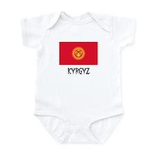 Kyrgyz Flag Infant Bodysuit