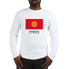 Kyrgyz Flag Long Sleeve T-Shirt