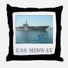 USS Midway Pillow