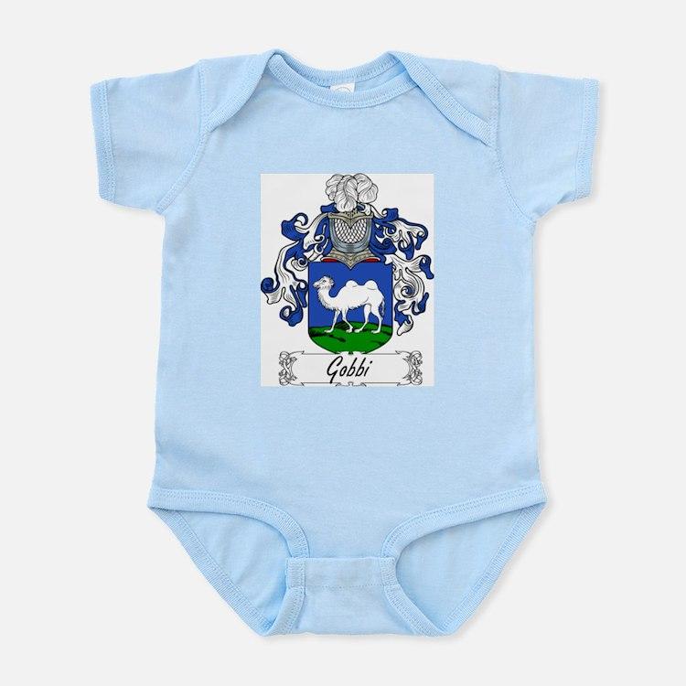 Gobbi Family Crest Infant Creeper
