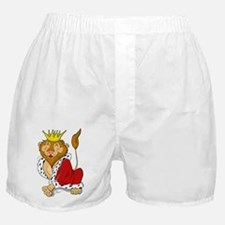 King Lion Cartoon Boxer Shorts