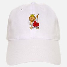King Lion Cartoon Baseball Baseball Cap