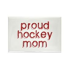 Proud Hockey Mom Rectangle Magnet