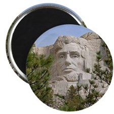 Rushmore Abe Magnet