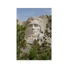 Rushmore Abe Rectangle Magnet