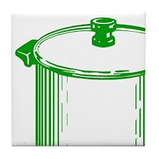 Soup Pot (on white) Tile Coaster