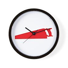 Saw Wall Clock