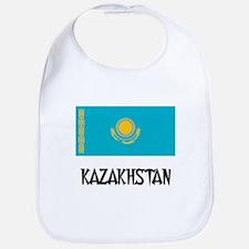 Kazakhstan Flag Bib