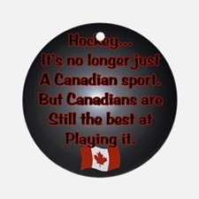 Canadian Sport Ornament (Round)