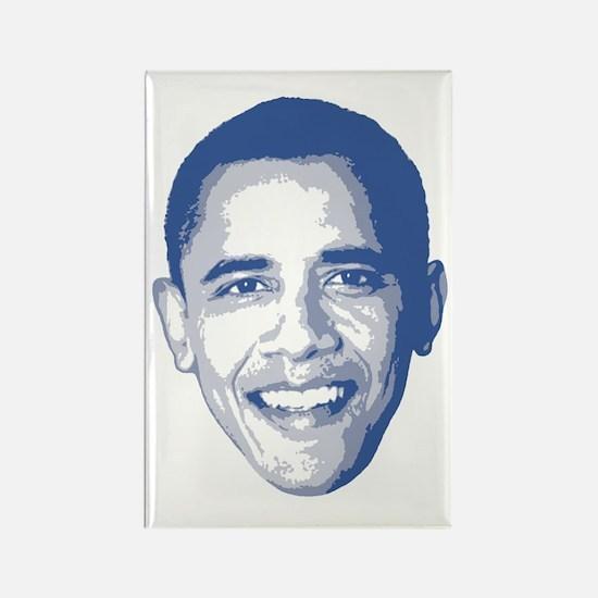 Obama Face Rectangle Magnet