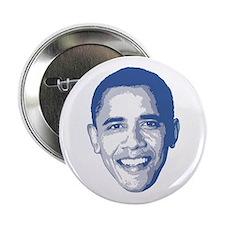 """Obama Face 2.25"""" Button"""
