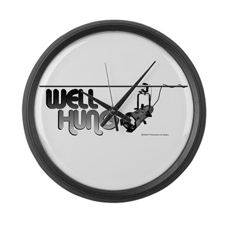 Well Hung Large Wall Clock