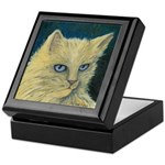 Bad Kitty Tile Trinket Box