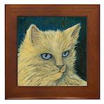 Bad Kitty Framed Art Tile