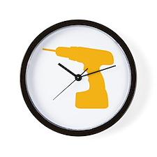 Drill Wall Clock