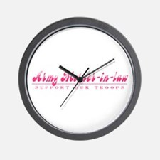 Army Mother-in-Law - Girly Style Wall Clock