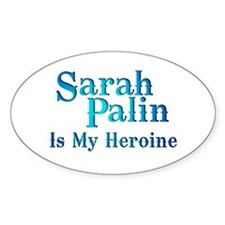 Hero Palin Oval Decal