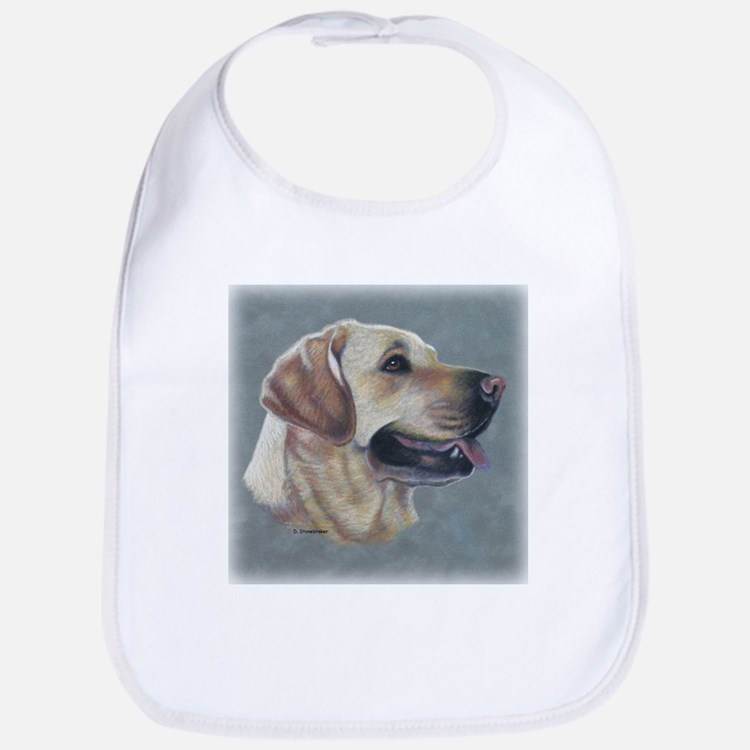 Dezzie, Yellow Lab Bib