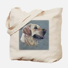 Dezzie, Yellow Lab Tote Bag