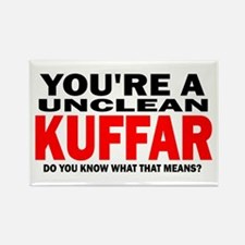Kuffar Rectangle Magnet (10 pack)