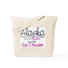 Governor of alaska Tote Bag