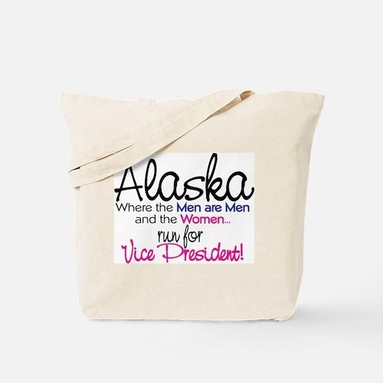 Funny Governor of alaska Tote Bag