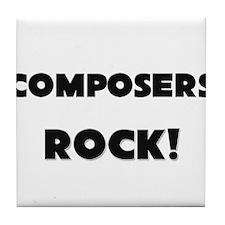 Composers ROCK Tile Coaster