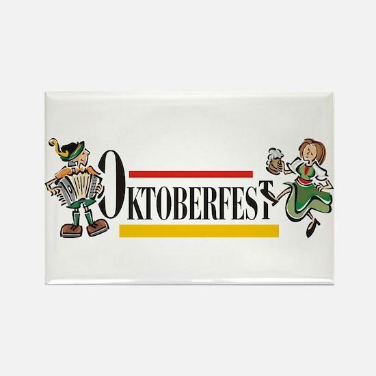 Oktoberfest Rectangle Magnet