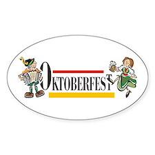 Oktoberfest Oval Decal