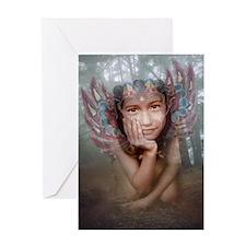 Mystic Angel Greeting Card
