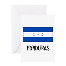 Honduras Flag Greeting Card