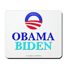 """Obama/Biden"" Mousepad"