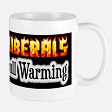"""Flaming Liberals"" Mug"