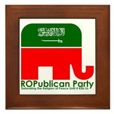 ROPublicans Framed Tile