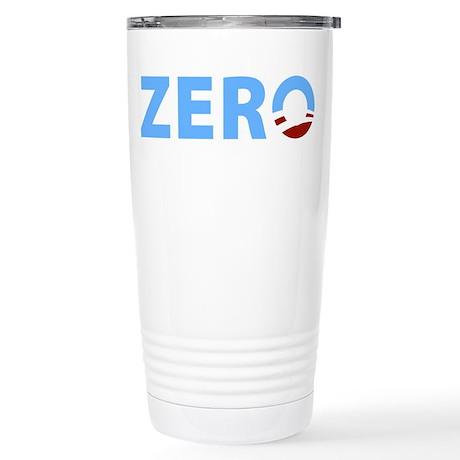 Anti Obama ZERO Stainless Steel Travel Mug