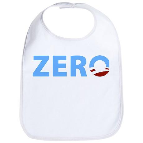 Anti Obama ZERO Bib