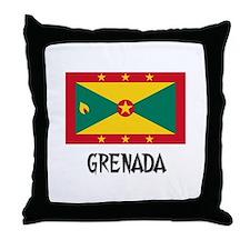 Grenada Flag Throw Pillow