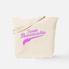 Pink Team Barracuda Tote Bag