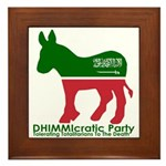 DHIMMIcratic Party Framed Tile