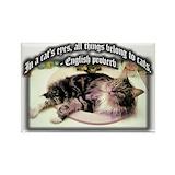 Maine cat Magnets