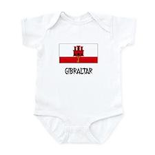 Gibraltar Flag Infant Bodysuit