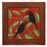 Crows Framed Tiles