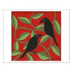 Two Crows Small Poster