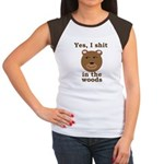 Does a bear shit in the woods? Women's Cap Sleeve