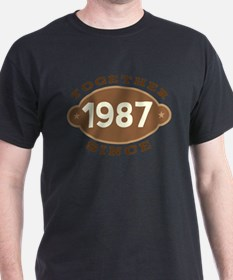 1987 Wedding Anniversary T-Shirt