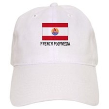 French Polynesia Flag Baseball Cap
