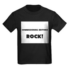 Commissioning Editors ROCK Kids Dark T-Shirt