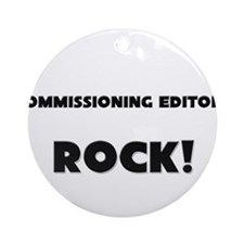 Commissioning Editors ROCK Ornament (Round)