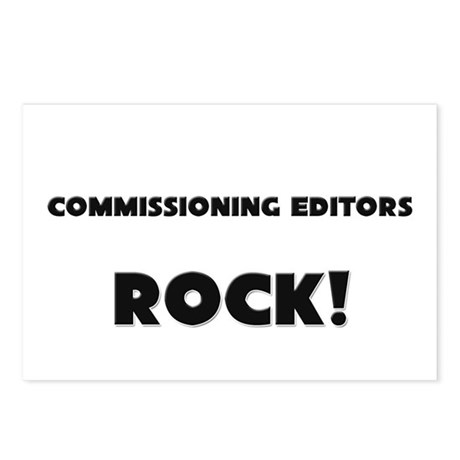 Commissioning Editors ROCK Postcards (Package of 8